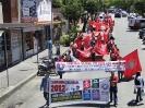 Passeatra no centro de divinópolis ,campanha salarial 2012